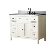 42 inch bathroom vanities & cabinets | qualitybath