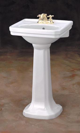 Cheviot 511 20 Wh Mayfair Pedestal Lavatory Qualitybath Com