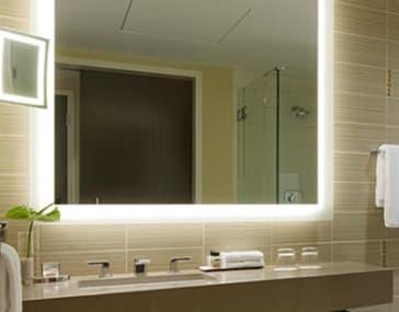 Electric Mirror Sil 3636 Silhouette Lighted Mirror Qualitybath Com