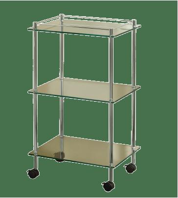 Essentials Three Tier Cart With Wheels
