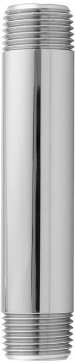 1//2 x 12 Antique Brass Jaclo 801-12.12-AB All Brass Vertical Drop Nipple