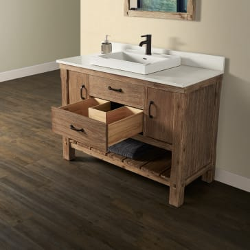Fairmont Designs 1507 Vh48 Napa 48 Quot Open Shelf Bathroom