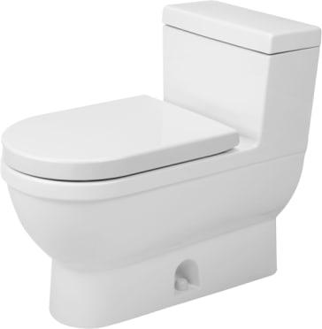 Duravit 2120010001 Starck 3 One Piece Toilet Qualitybath Com