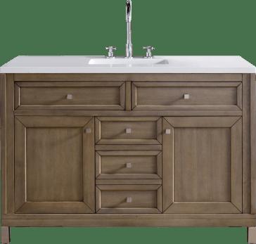 James martin furniture 305 v48 www chicago bathroom vanity - Discount bathroom vanities chicago ...