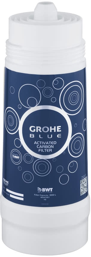 grohe 40547001 blue grohe blue filter activated carbon. Black Bedroom Furniture Sets. Home Design Ideas