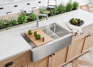 Blanco 525243 Quatrus 33 Quot Kitchen Sink Qualitybath Com