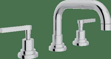Rohl A2218lmapc 2 Lombardia U Spout Widespread Lavatory Faucet Qualitybath Com