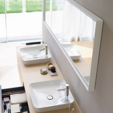 Duravit Lc738600000 L Cube Mirror With Lighting