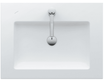 Laufen 8 1643 1 000 Living Square 650 Washbasin