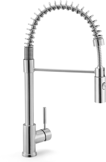 Rohl R7521ss Lux Side Lever Stainless Steel Pro Pull Down