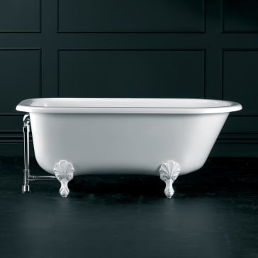 Victoria Amp Albert Wes N Sw Of Wessex Roll Rim W Optional Classic Ball And Claw Feet Qualitybath Com