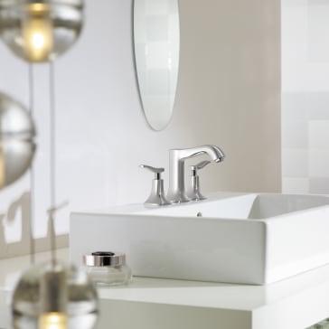 Hansgrohe 31073 Metris C Widespread Faucet Qualitybath Com