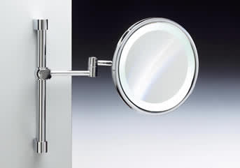 electric bathroom mirrors windisch 99159 electric lighted wall mounted magnifying 12769