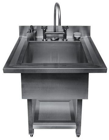 julien 003865 urbanedge 34 stainless steel utility sink qualitybathcom - Stainless Utility Sink