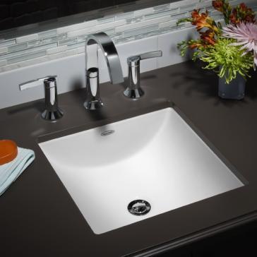 American Standard 0426 000 Studio Carre Undercounter Sink