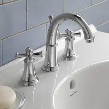 American Standard 7420 821 Portsmouth Widespread Faucet W