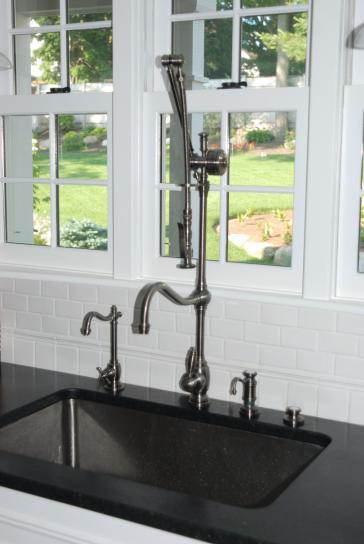Waterstone 4400 Annapolis Suite Gantry Faucet / Pre-rinse - Hook ...