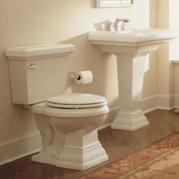 pictures of pedestal sinks in bathroom american standard 0780 town square 27 quot pedestal sink 25678
