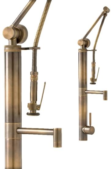 Waterstone 3700 Fulton Suite Gantry Faucet / Pre-rinse - Straight ...