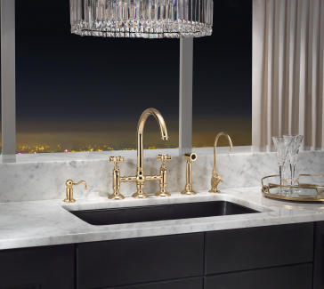 rohl country kitchen bridge faucet rohl a1461ws c spout bridge faucet with sidespray 25593