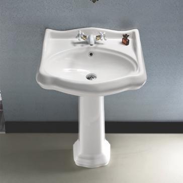Nameeks 030200 ped bathroom sink for Nameeks bathroom sinks