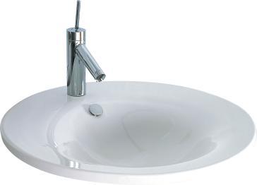 Duravit 0406580000 Starck 1 Furniture Washbasin | QualityBath.com