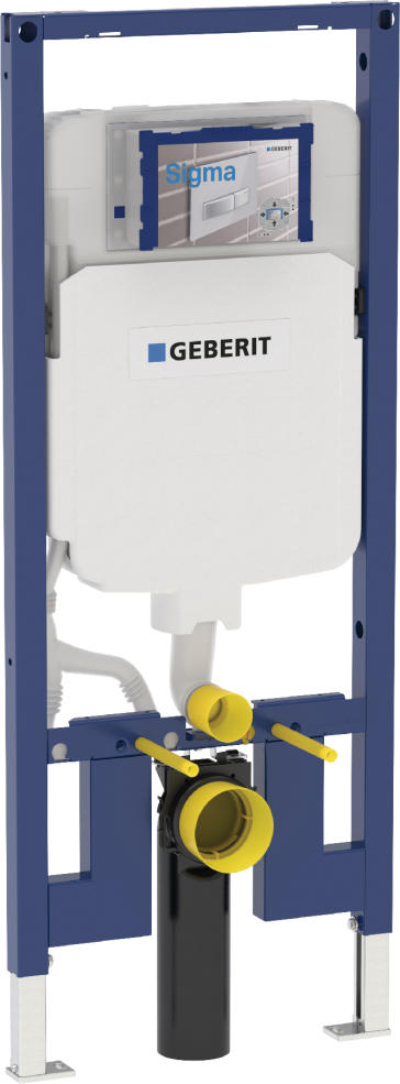 Geberit carrier frame with sigma concealed for Geberit installation system