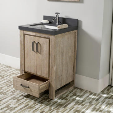 fairmont designs 1530-v24 oasis bathroom vanity | qualitybath 24 Bathroom Vanity