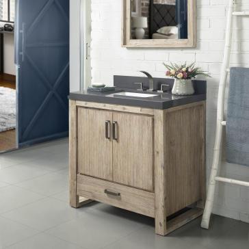 index oasis vanity storage luxhome bathroom and sand fairmont pebble vanities discount