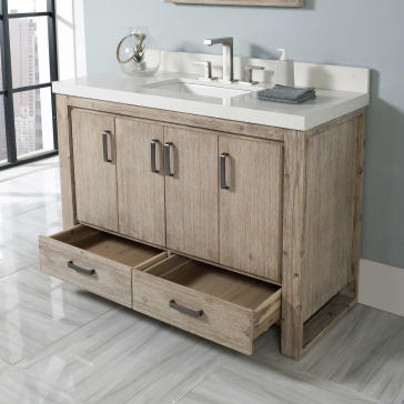 Wonderful 48 Bathroom Vanity Decoration Ideas