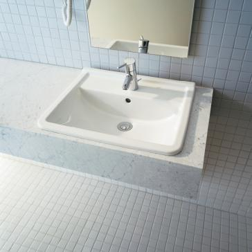 Duravit 030256 Starck 3 Drop In Vanity Basin | QualityBath.com