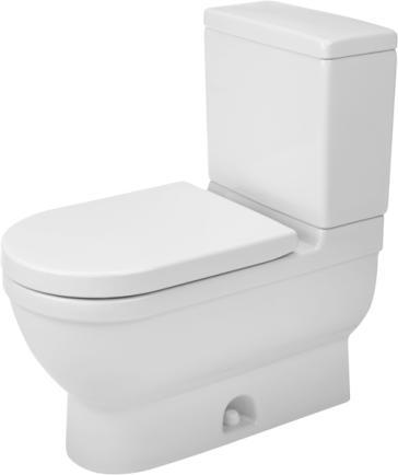 duravit 2125010000 starck 3 two piece toilet. Black Bedroom Furniture Sets. Home Design Ideas