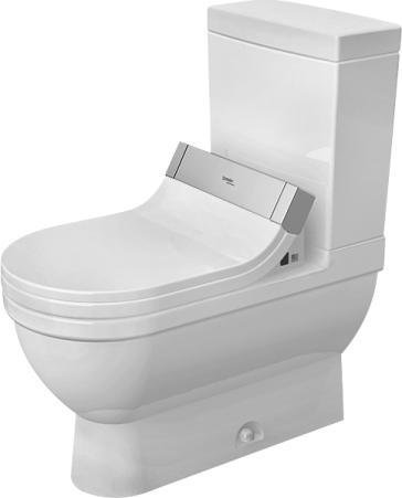 duravit 2125510000set starck 3 two piece toilet set with sensowash starck c shower toilet seat. Black Bedroom Furniture Sets. Home Design Ideas