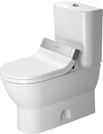 duravit 2126510000set darling new two piece toilet set with sensowash starck c seat. Black Bedroom Furniture Sets. Home Design Ideas