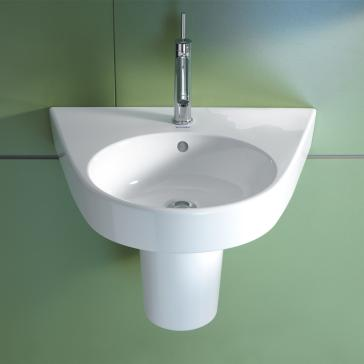 Duravit 232355 Starck 2 Washbasin With Siphon Cover | QualityBath.com