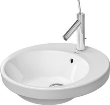 Duravit 2327480000 Starck 2 Countertop Vanity Basin-18-7/8 ...
