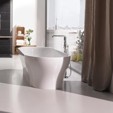 Grohe 23491 Essence Floorstanding Tub Filler | QualityBath.com