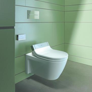 Duravit 2533590092 Starck 2 Wall Mounted Toilet With Sensowash C ...
