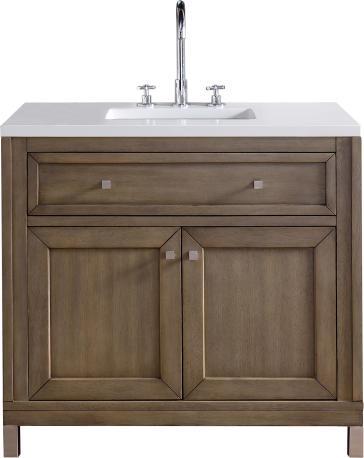 James martin furniture 305 v36 www chicago bathroom vanity - Discount bathroom vanities chicago ...