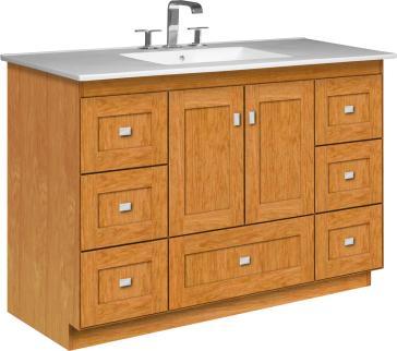 Strasser Woodenworks 13 134 Montlake Vanity With Shaker
