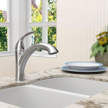 American Standard 4433.100.F15.224 Quince Kitchen Faucet ...