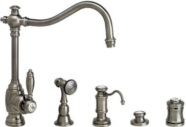 air in kitchen faucet waterstone 4200 4 annapolis suite kitchen faucet with side 15626