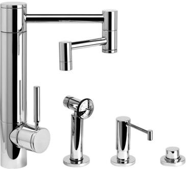 air in kitchen faucet waterstone 3600 12 3 hunley suite kitchen faucet with side 15626