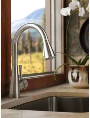 Brizo 63070LF-SS Venuto Kitchen Faucet | QualityBath.com
