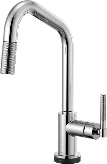 Brizo 64063LF Litze Kitchen Faucet With Smart Touch Technology ...