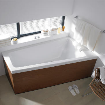Duravit 700219000000090 Paiova Soaker Tub | QualityBath.com