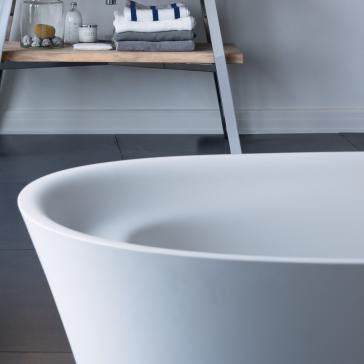 Duravit 700330000000090 Cape Cod Freestanding Soaker Tub ...