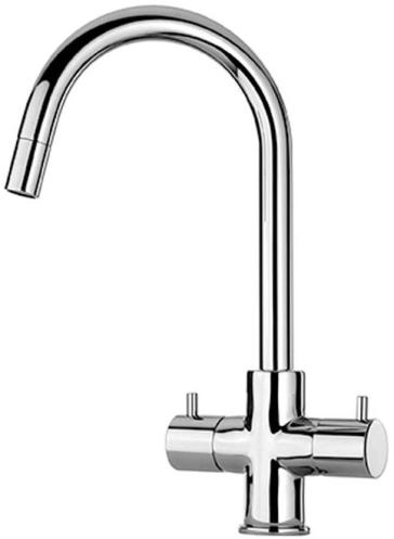 Latoscana 78CR491 Two Handle Pull Down Kitchen Faucet | QualityBath.com