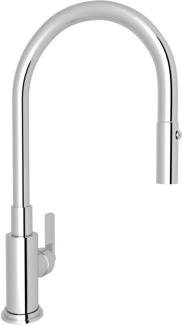 Rohl A3430lm Lombardia Pull Down Kitchen Faucet