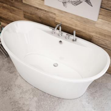 Maax 106267 000 Ariosa 6636 Freestanding Soaker Tub